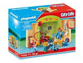 Playmobil 70308 Hrací box - Mateřská škola