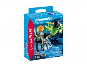 Playmobil 70248 Agent s dronem