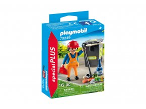 Playmobil 70249 Metař