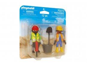 Playmobil 70272 DuoPack Stavební dělníci