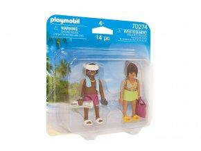 Playmobil 70274 DuoPack Pár na dovolené