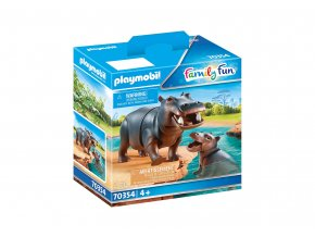 Playmobil 70354 Hroch s mládětem