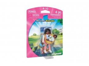 Playmobil 70563 Maminka s nosítkem na dítě