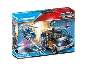 Playmobil 70575 Policejní helikoptéra: Pronásledování vozidla