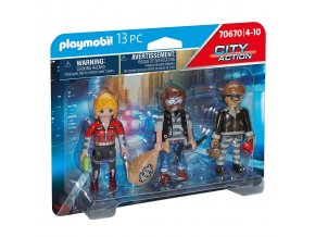 Playmobil 70670 Set figurek Lupiči