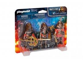 Playmobil 70672 Trojice Burnhamských nájezdníků