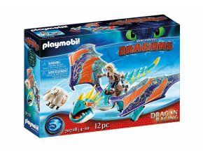 Playmobil 70728 Dragon Racing: Astrid a Buřina
