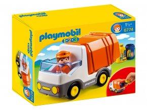 Playmobil 6774 Popelářský vůz 1.2.3