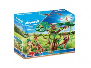 Playmobil 70345 Orangutani na stromě