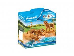 Playmobil 70359 Tygři s mládětem