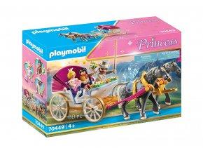 Playmobil 70449 Romantický kočár s koňmi