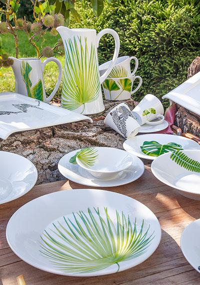 Kolekce porcelánu GINKGO od by inspire