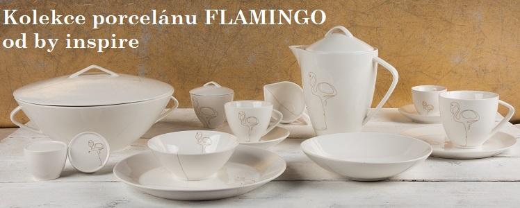 Kolekce porcelánu FLAMINGO od by inspire
