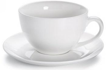 Šálek s podšálkem na čaj