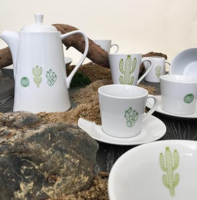 Kolekce porcelánu CACTUS od by inspire