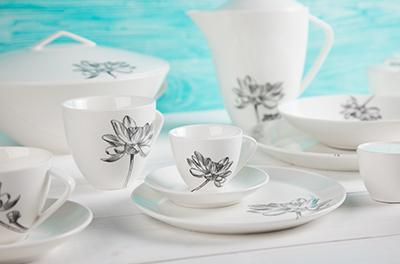 Kolekce porcelánu FLEUR