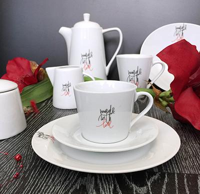 Kolekce porcelánu LOVE od by inspire