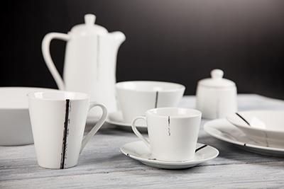 Kolekce porcelánu BRUSH od by inspire