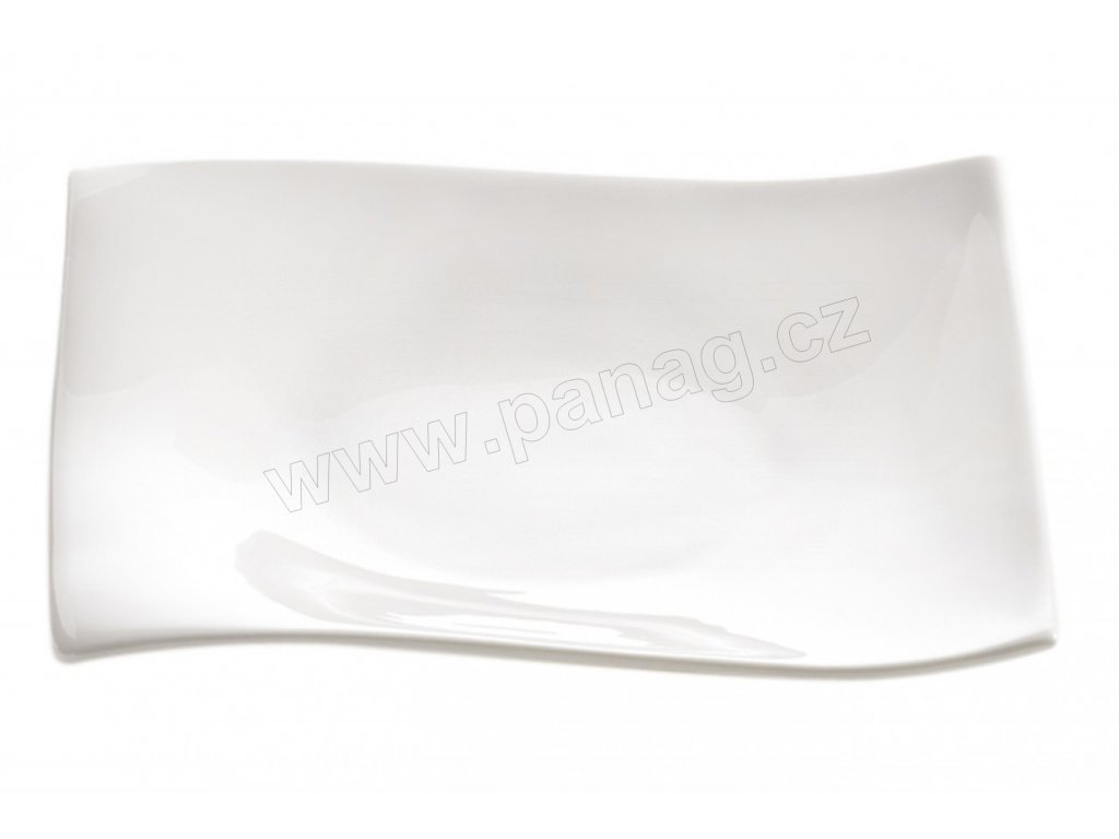 Porcelánový čtvercový talíř 15 cm - Motion - Maxwell and Williams