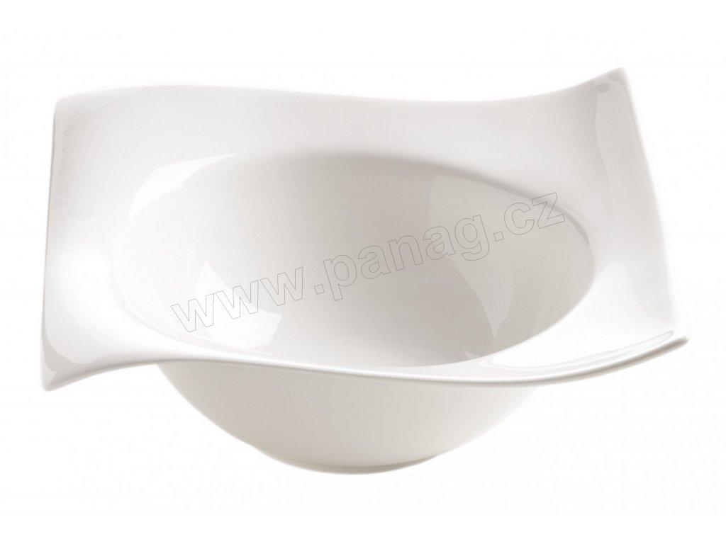 Porcelánová čtvercová miska 19 cm - Motion - Maxwell and Williams
