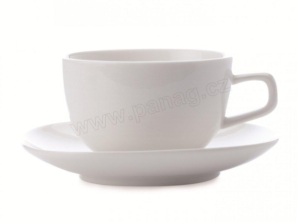 Porcelánový šálek s podšálkem 220 ml Bisou - Maxwell&Williams