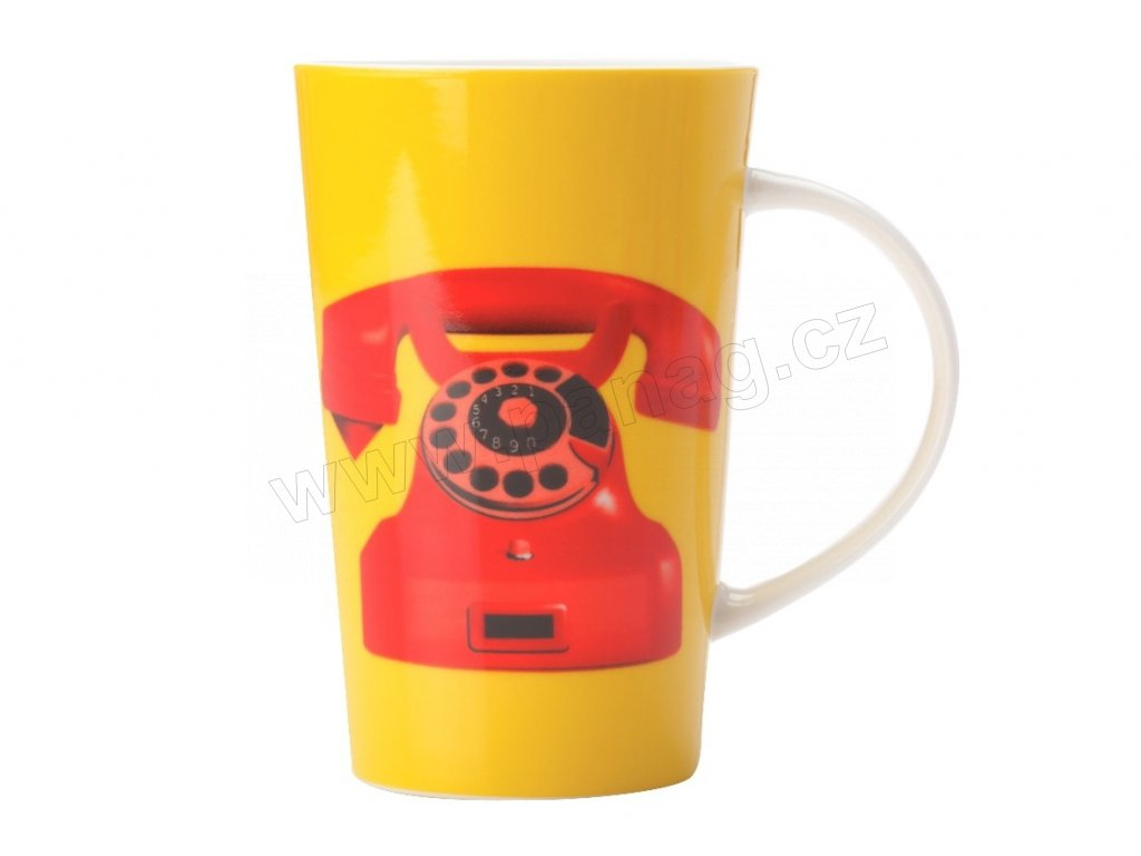 Porcelánový hrnek Dial Tone Conical Mug 420 ml - Maxwell&Williams