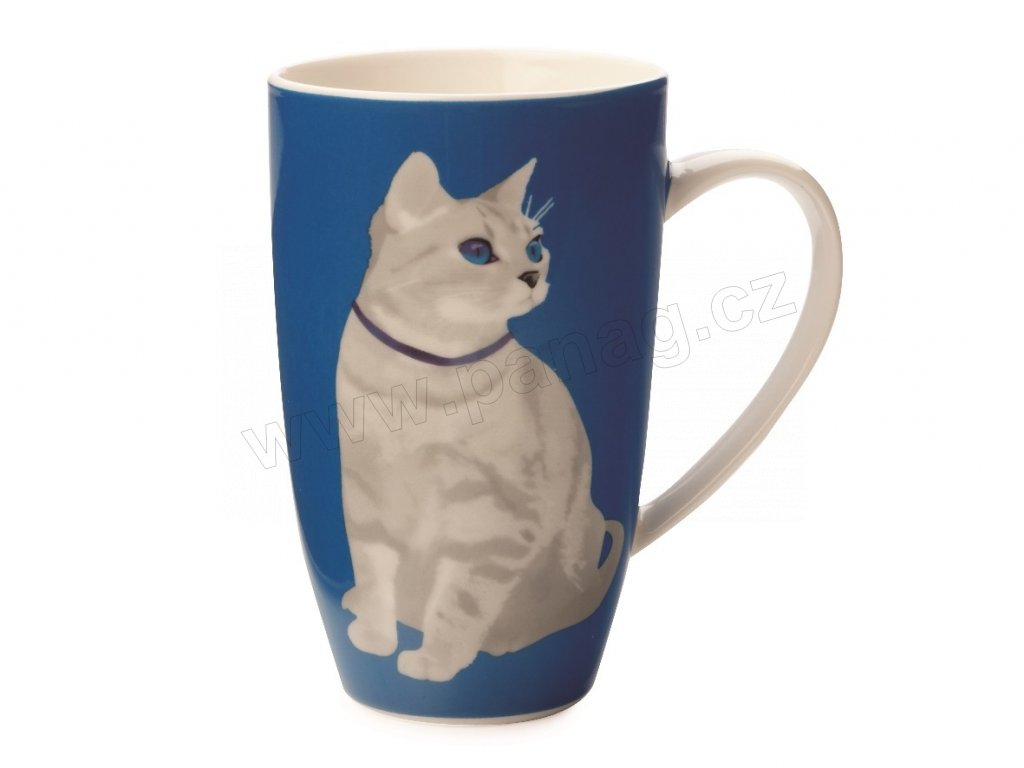 Porcelánový hrnek Claws Coupe Mug 420 ml Blue - Maxwell&Williams