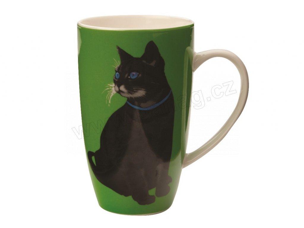 Porcelánový hrnek Claws Coupe Mug 420 ml Green - Maxwell&Williams