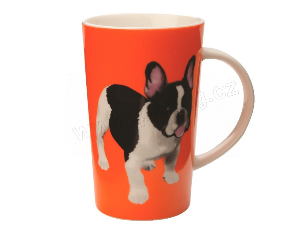 Porcelánový hrnek Paws Coupe Mug 420 ml Orange - Maxwell&Williams