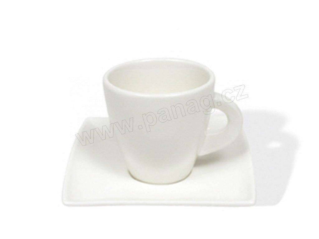 Porcelánový šálek s podšálkem 200 ml - East meets west JX251212 - Maxwell and Williams