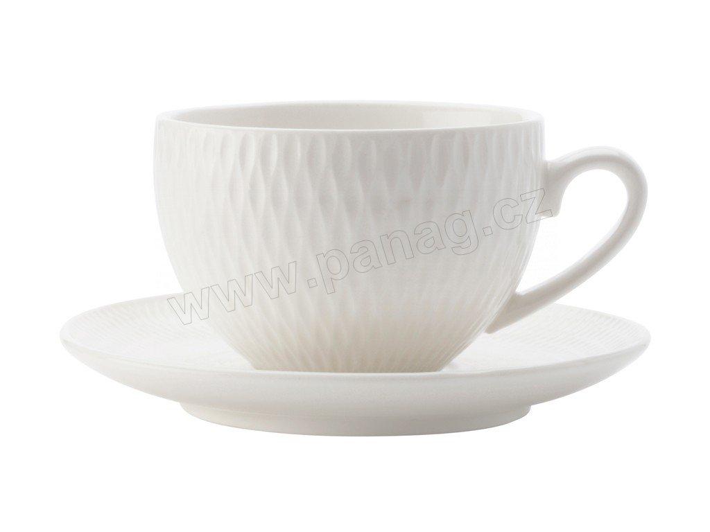 Šálek na espresso 90 ml s podšálkem - Diamonds - Maxwell&Williams