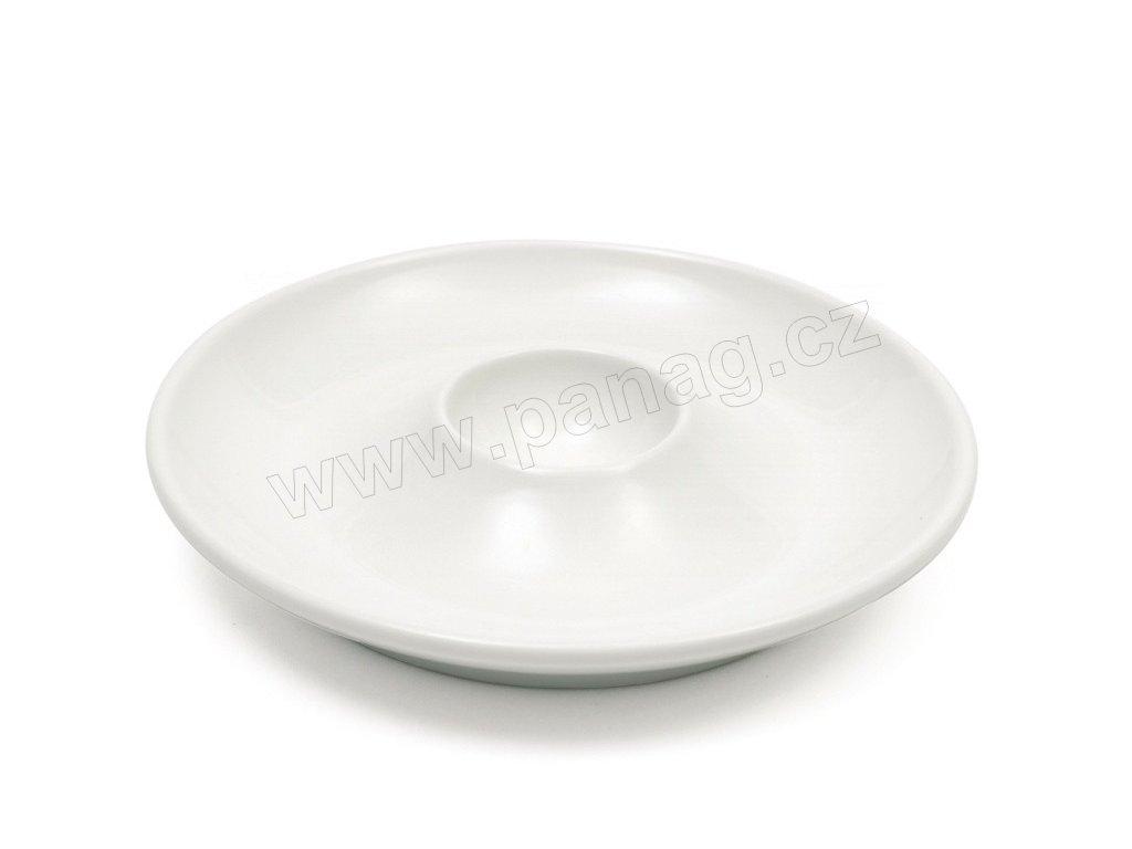 Talířek na vejce bílý 12,5 cm - WHITE BASICS - Maxwell and Williams