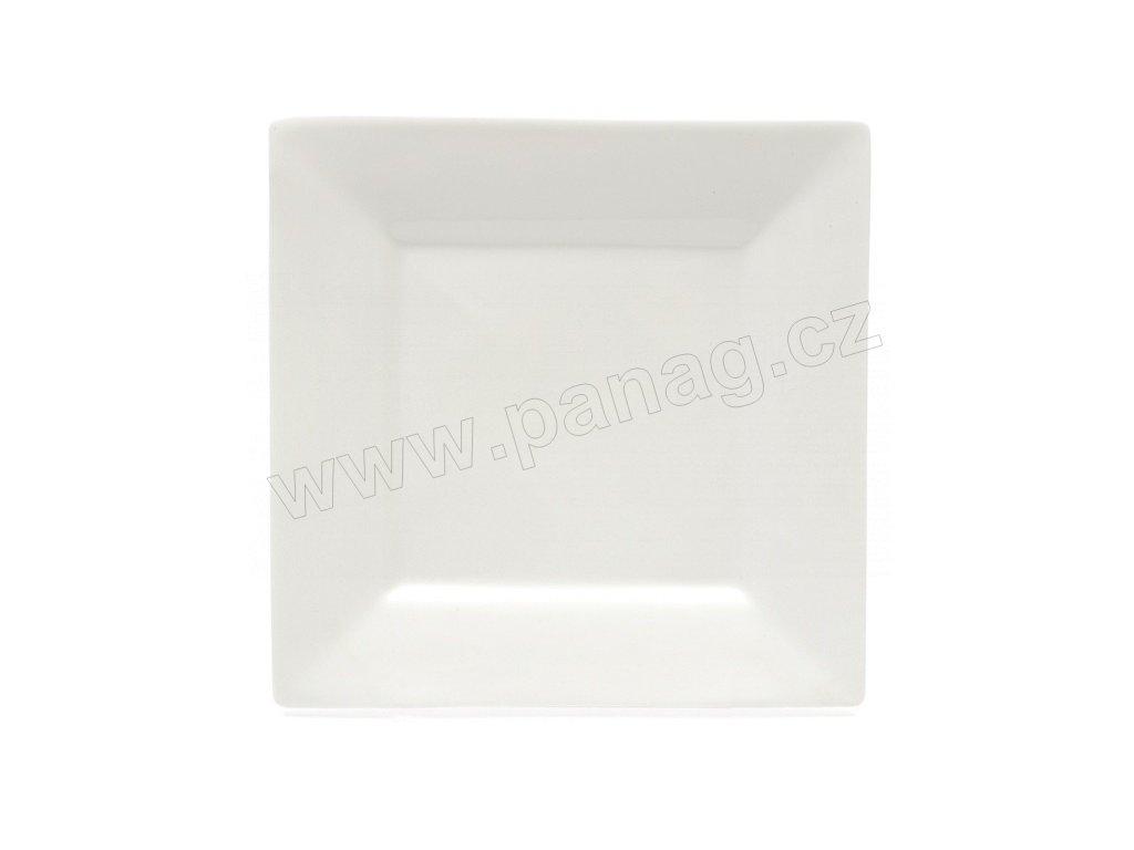 Jídelní talíř bílý 26 cm x 26 cm - MONDO - WHITE BASICS - Maxwell&Williams