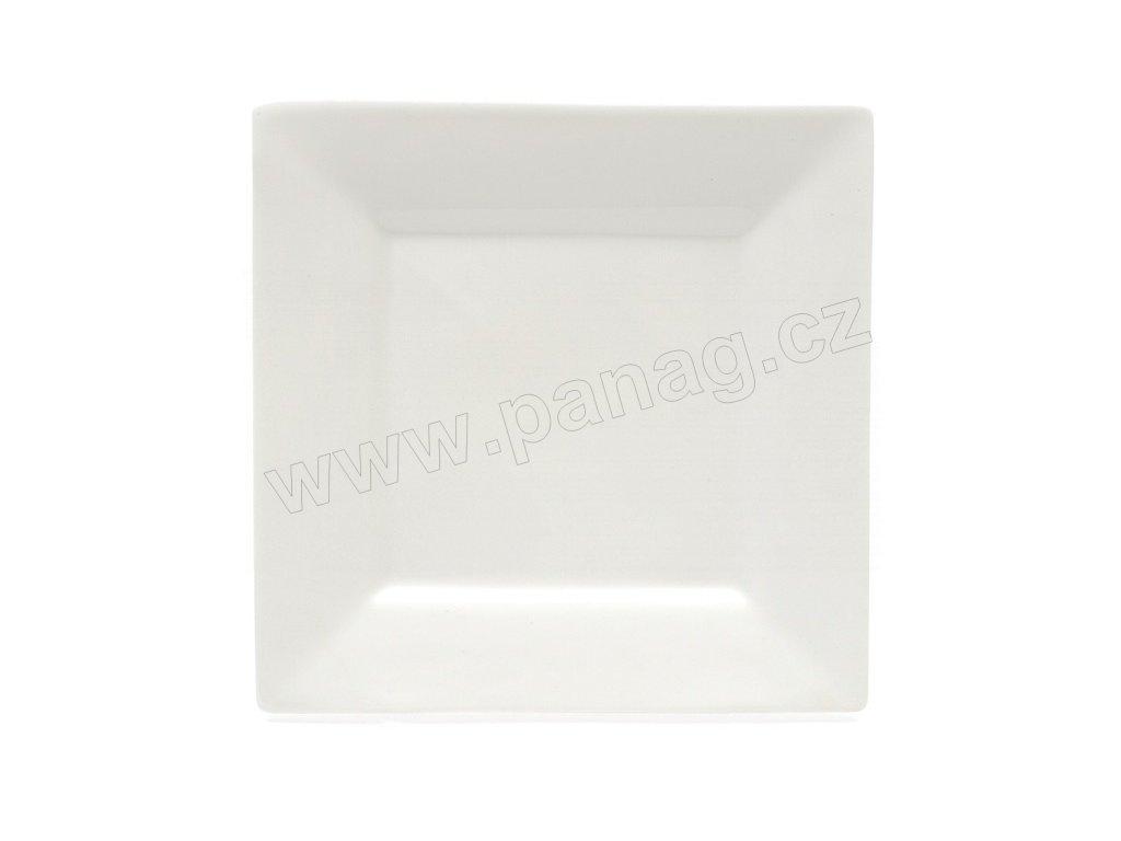 Dezertní talíř bílý 18,5 cm x 18,5 cm - MONDO - WHITE BASICS - Maxwell&Williams