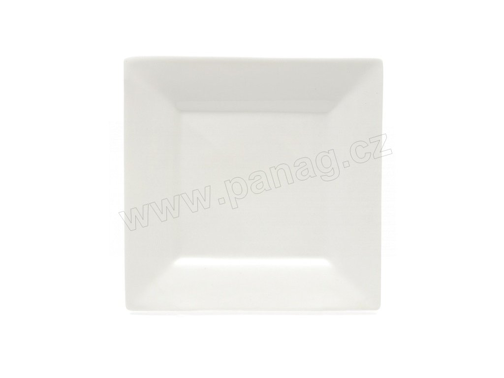 Klubový talíř bílý 30x30 cm - MONDO - WHITE BASICS - Maxwell&Williams