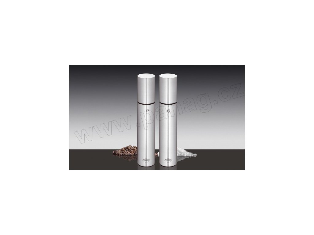 Set mlýnků na pepř a sůl nerez -Tavola - Küchenprofi - 3044032819