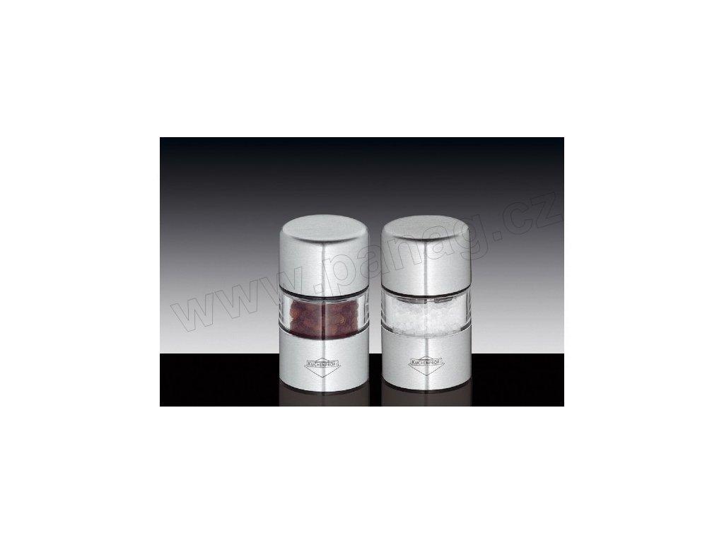 Set mlýnků na pepř a sůl nerez/akryl mini - Sydney - Küchenprofi - 3042502800