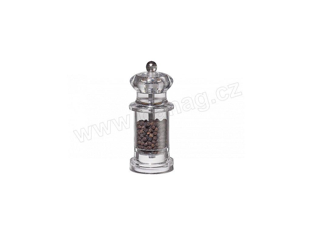 Mlýnek na pepř akryl s keramickým strojkem - Promo midi - Küchenprofi - 3080036600