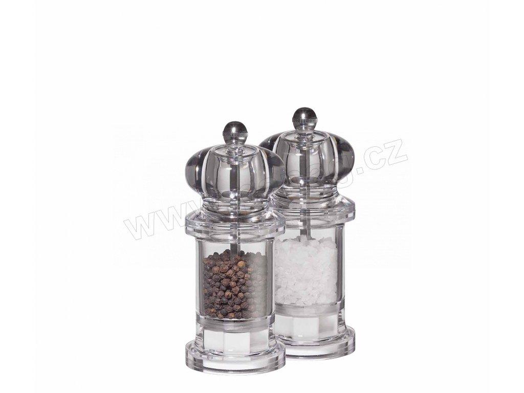 Set mlýnků na pepř a sůl akryl - Classic maxi - Küchenprofi - 3080056600