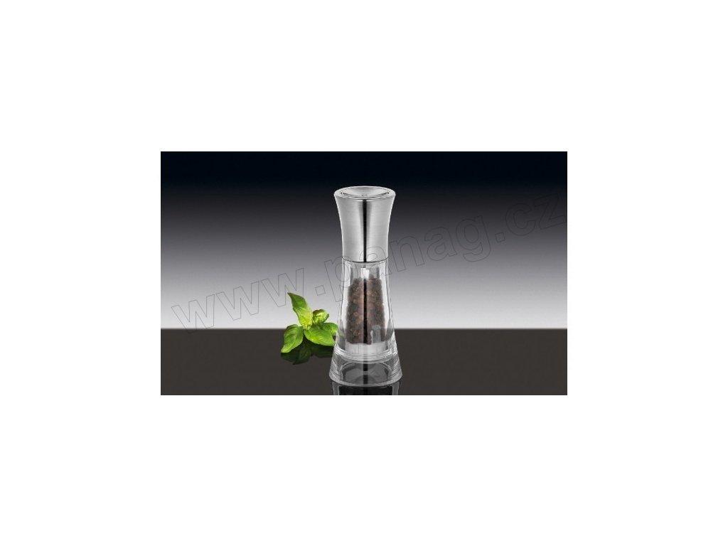 Mlýnek na pepř 13 cm chrom/akryl - New York - Küchenprofi - 3044133800