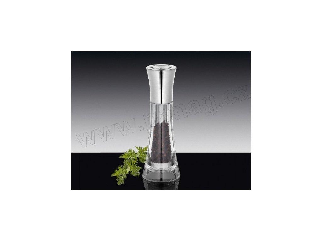 Mlýnek na pepř 18 cm chrom/akryl - Manhattan - Küchenprofi - 3044163800