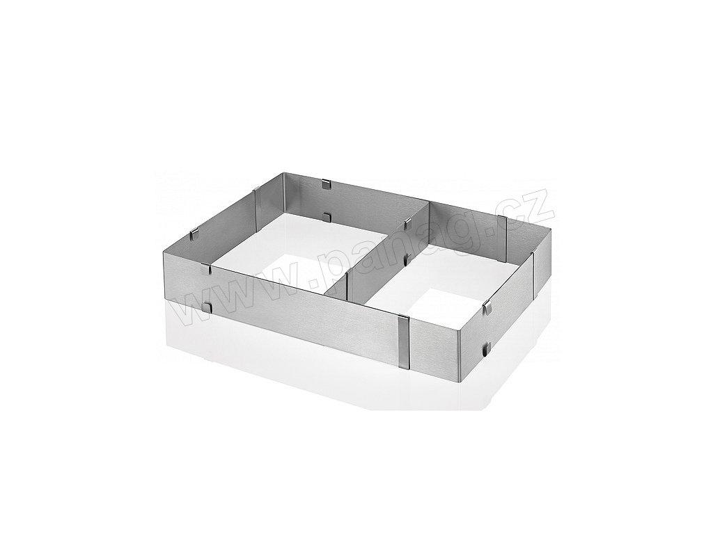 Dortová forma stavitelná hranatá - Küchenprofi - 0805842800