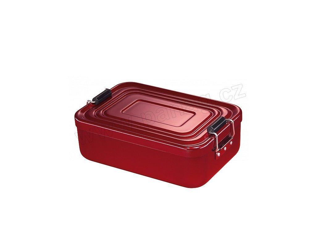 Svačinový box velký, červený - Küchenprofi - 1001471423
