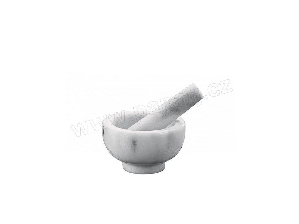Hmoždíř bílý mramor 11 cm - 1002430811 - Küchenprofi