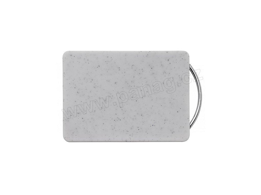 Snídaňové prkénko bílé 27x20 cm - Küchenprofi - 2327202200