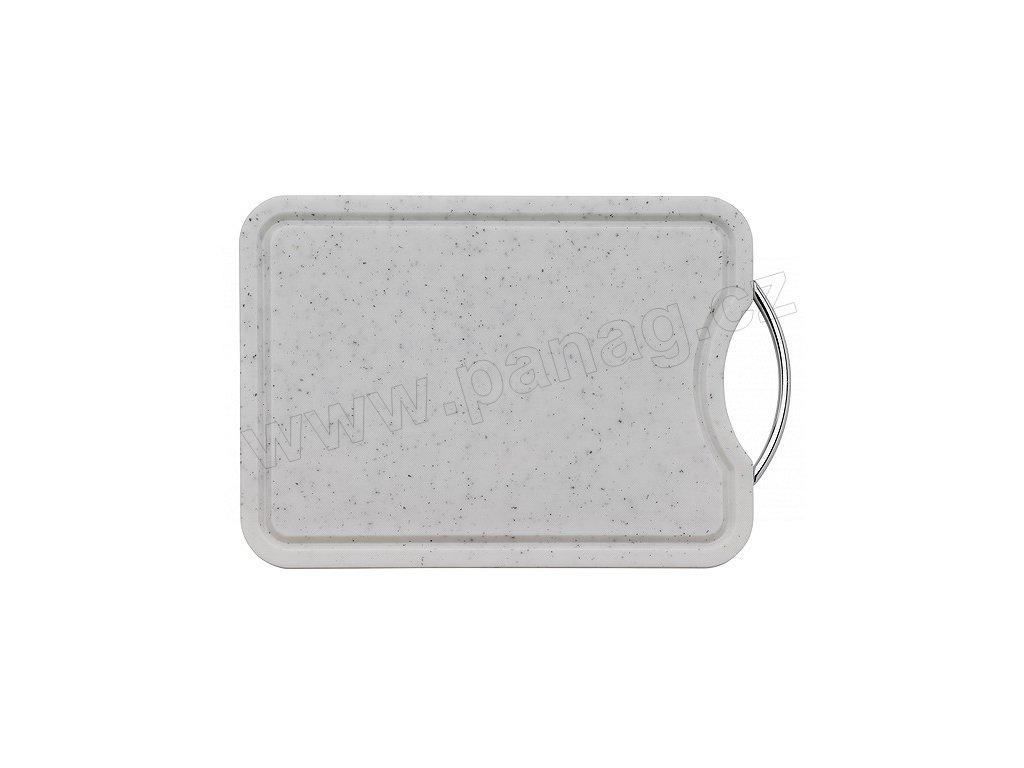 Snídaňové prkénko se žlábkem bílé 36x26 cm - Küchenprofi - 2336262200