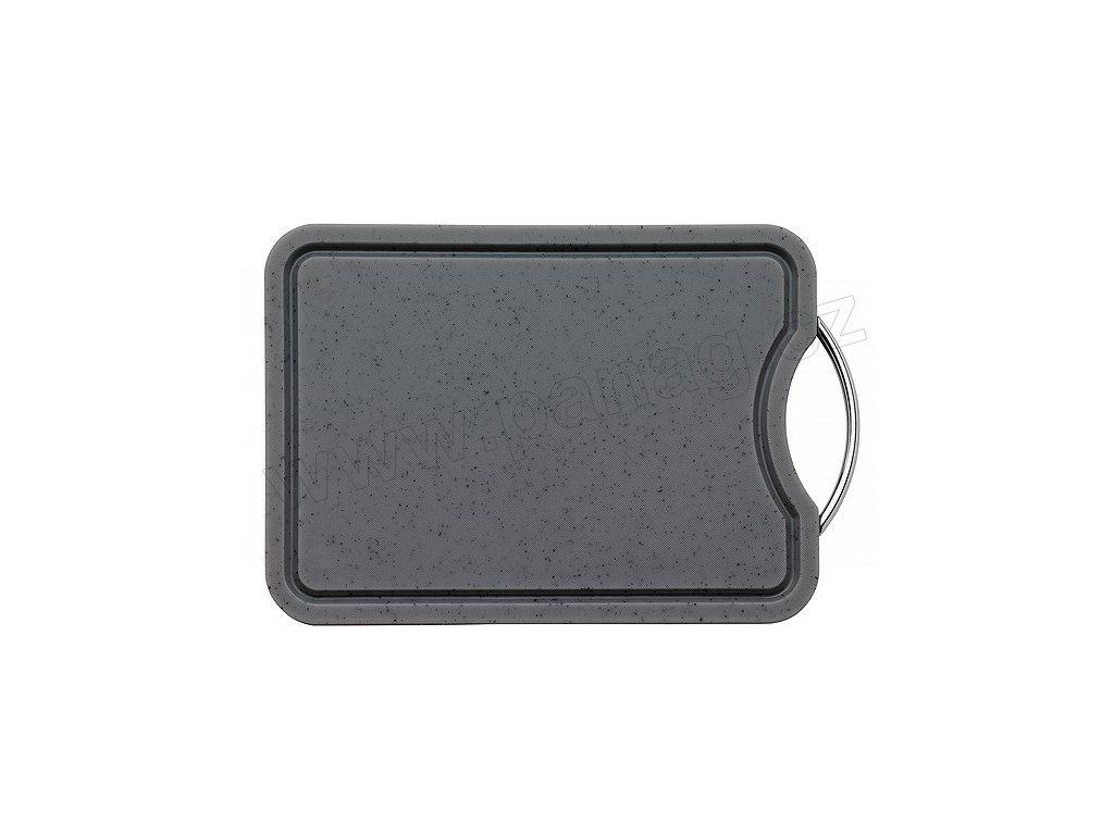 Snídaňové prkénko se žlábkem granit 36x26 cm - Küchenprofi - 2336265000