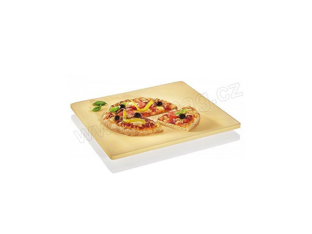 Pizza kámen s nožičkami, 40 x 35,5 cm - Küchenprofi - 1086150040