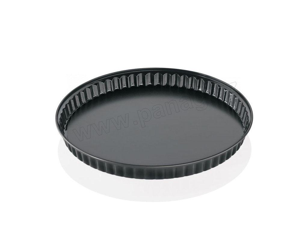 Koláčová pečící forma 28 cm, černá - Küchenprofi - 0810001028