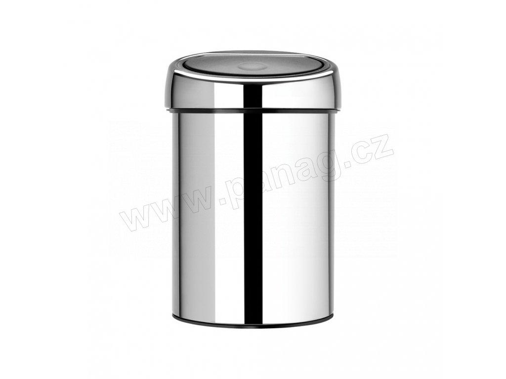 363962 Odpadkový dotykový koš TOUCH BIN lesklá ocel od Brabantia